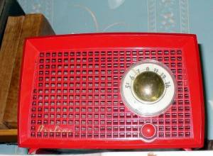 The red radio